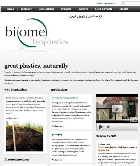 Biome Web Site