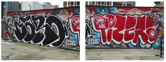 a comparison of the street art and vandalism The opinion that street art is vandalism (that is, not art) is widely held many people despise graffiti – but we are more than happy to line our public spaces with something much more offensive .