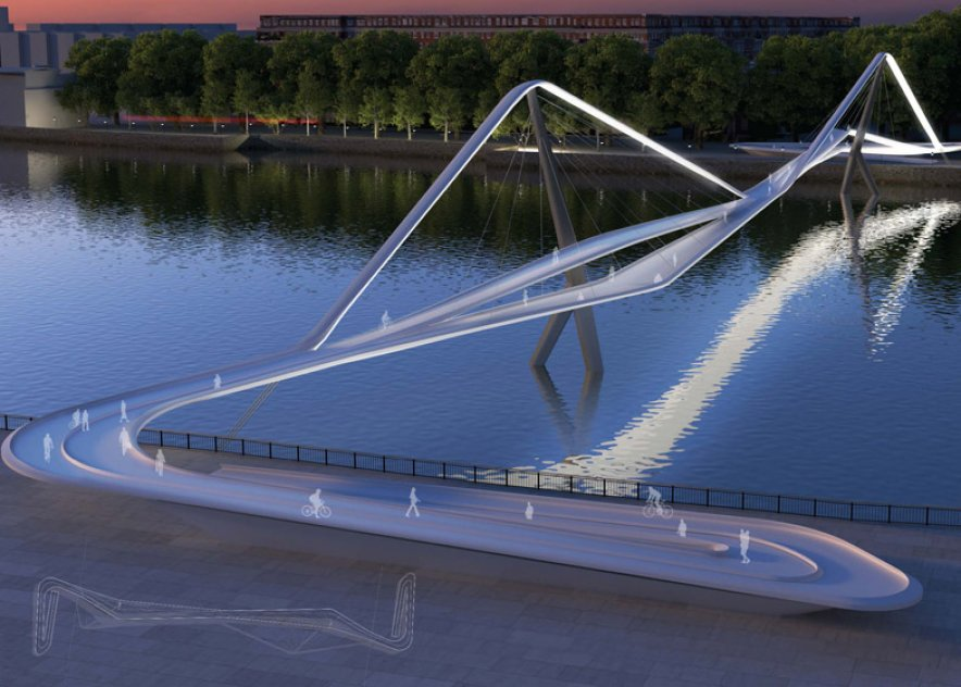 74 designs revealed for new bridge in London