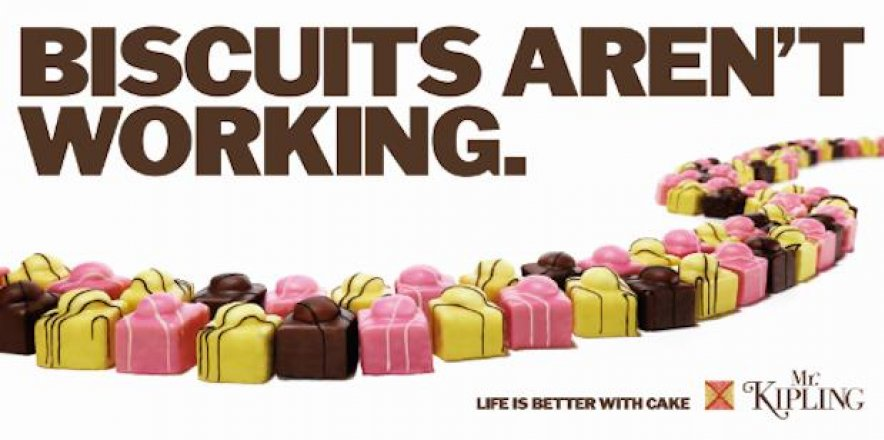 Iconic election poster gets Mr Kipling treatment