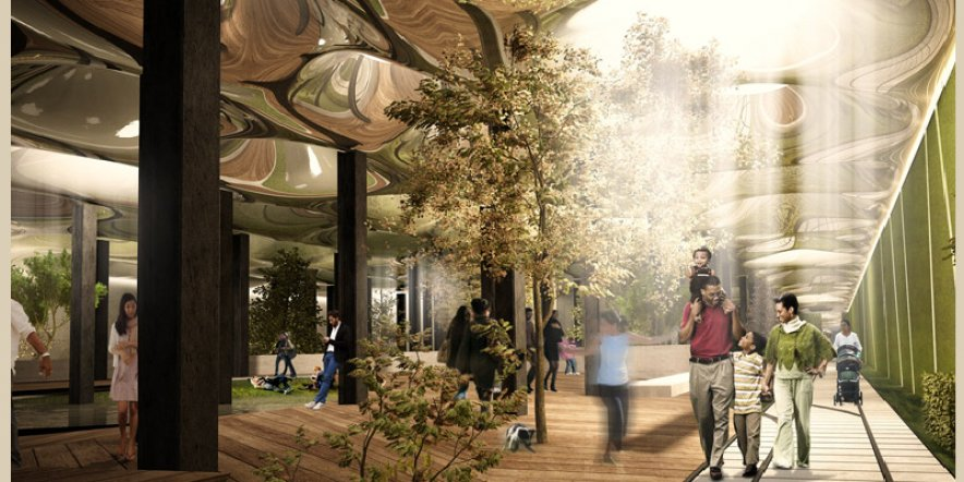World's first underground park in New York