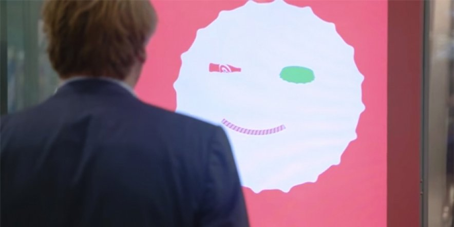 Smile for Coca-Cola's interactive billboard