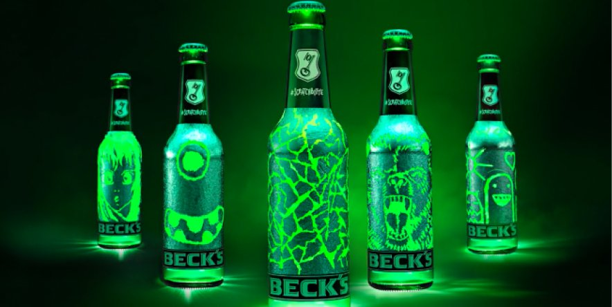 Beck's reveals scratchable bottle
