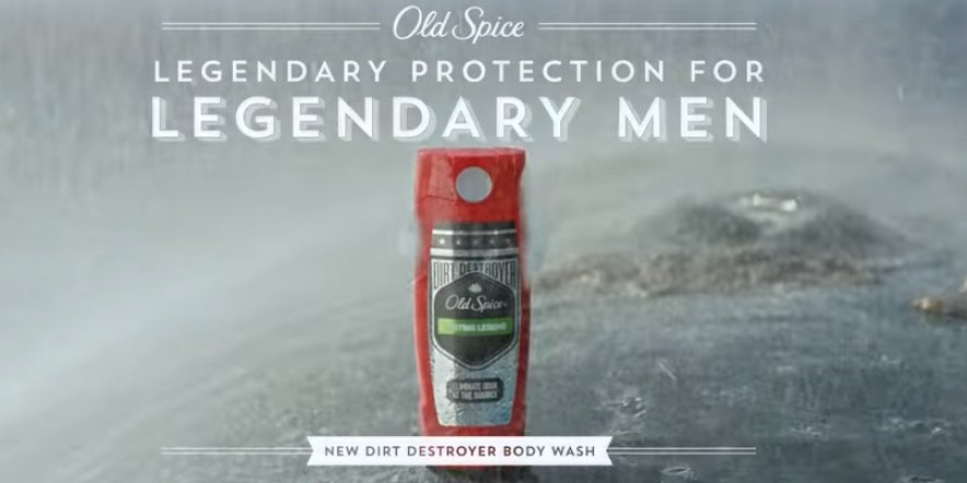 Old Spices introduces 'Legendary Man'