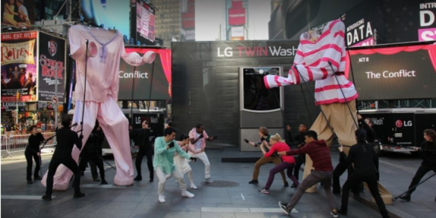 LG goes theatrical with new campaign