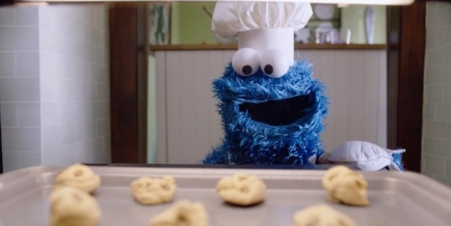 Cookie Monster tries out Siri in fun new ad