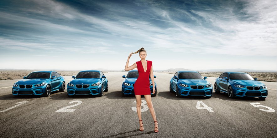 BMW's 360˚ interactive ad