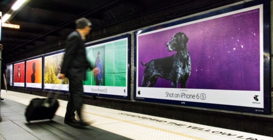 Apple's 'Shot on iPhone' billboards