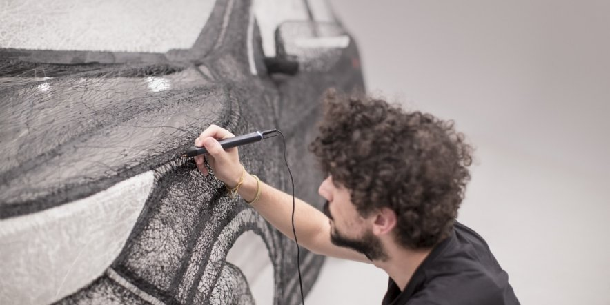 The world's largest 3D pen sculpture