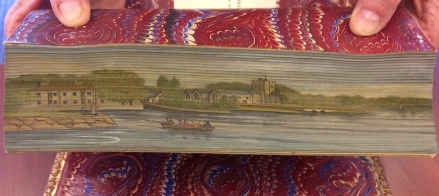 The secret history of fore-edge paintings