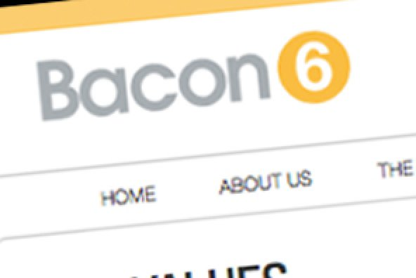 Bacon 6 Website Design and Build