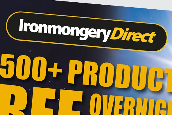 Ironmongery Direct PR and Catalogue Design