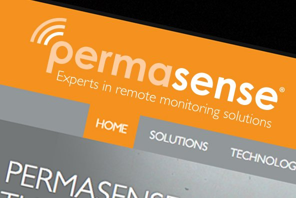 Permasense Website Design and Build