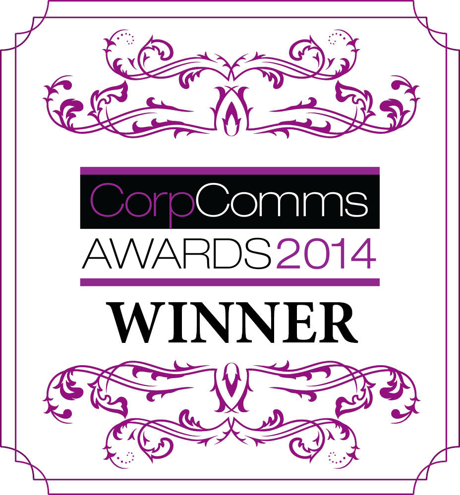 Winner Corporate Comms Awards 2014