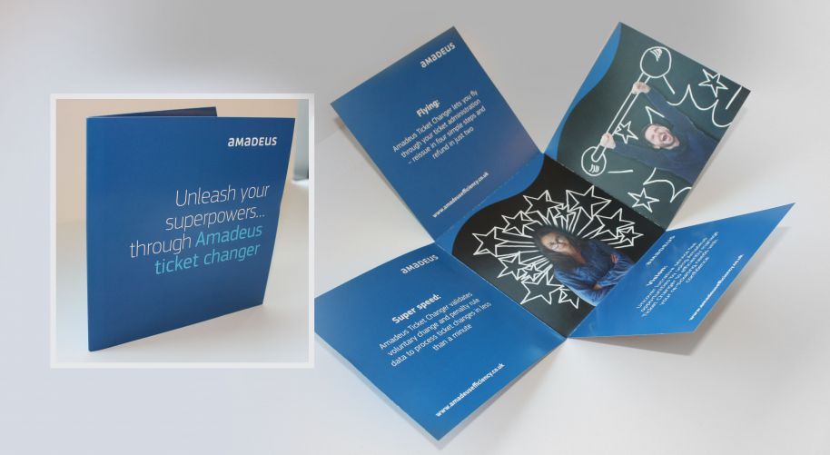 Amadeus Direct Mail Campaign
