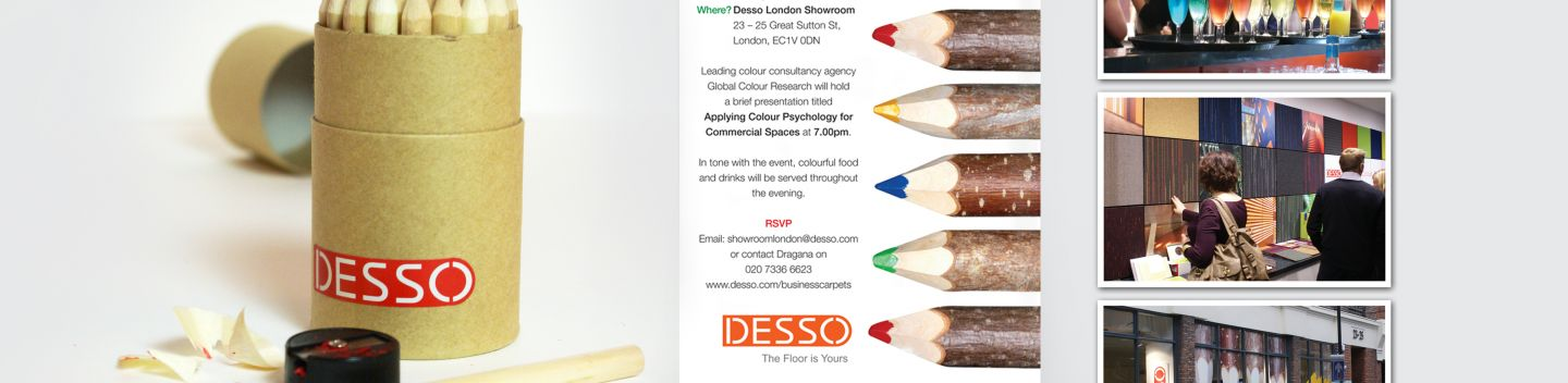 Desso Showroom Launch, PR and Direct Marketing