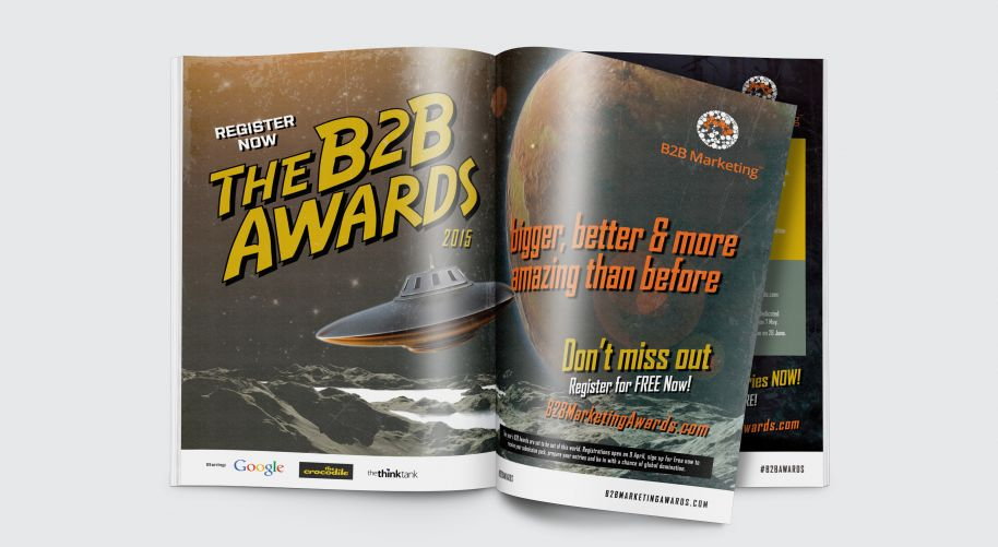 Advertising for B2B Marketing Awards 2015