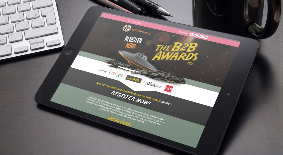 eDM for B2B Marketing Awards 2015