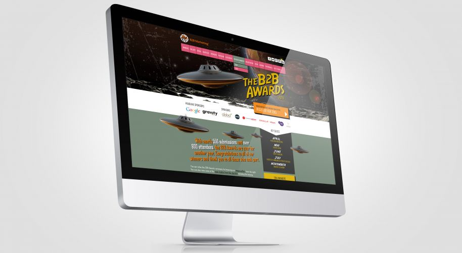 Web Site for B2B Marketing Awards 2015