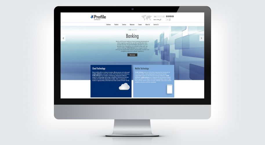 Profile website design and build