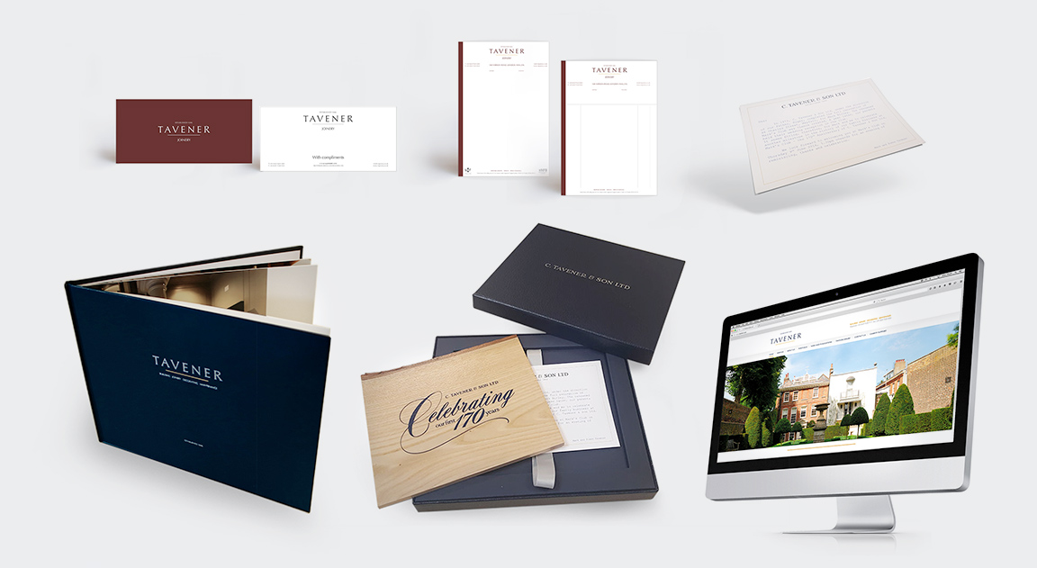 Tavener & Sons Rebrand and Launch