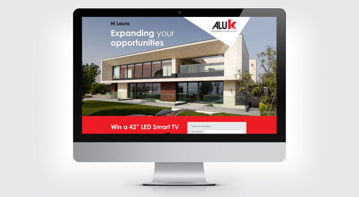 Sales promotion activity for AluK