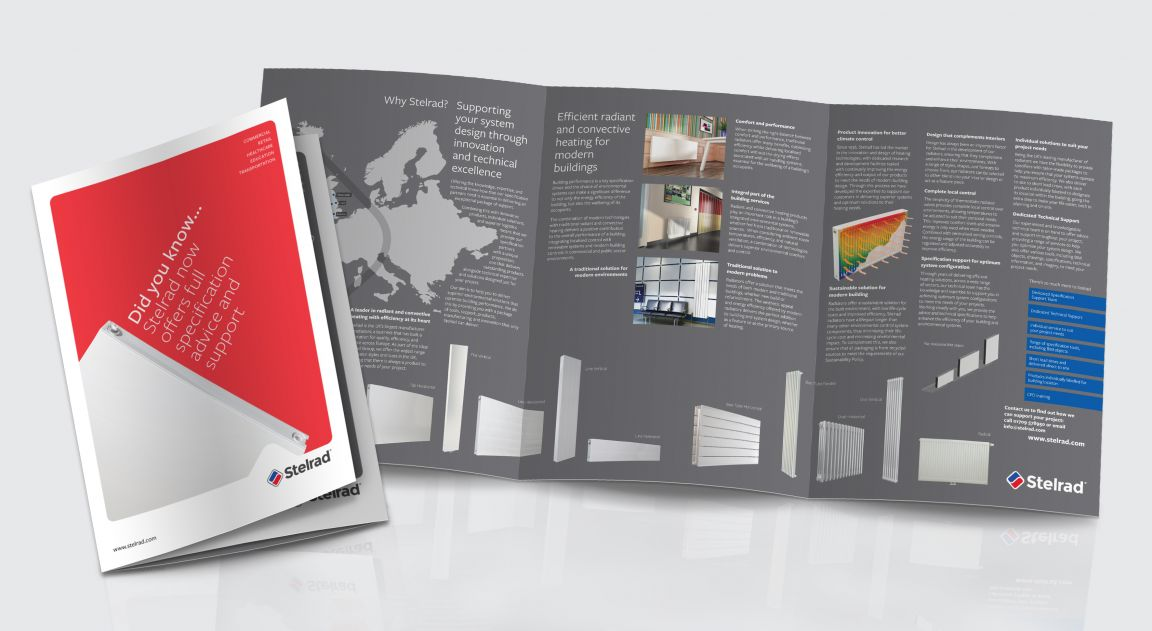 Stelrad Direct Mail and Insert