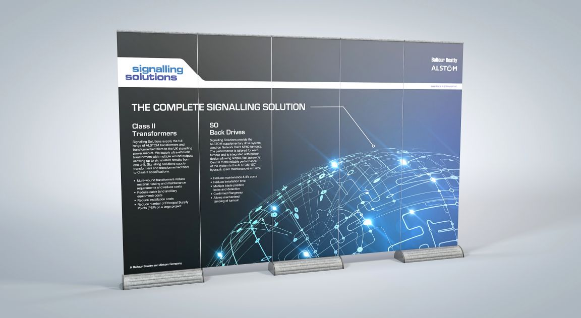 Exhibition Design for Signalling Solutions