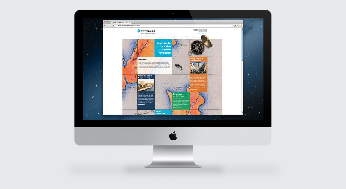Travel Cube Website Design and Build