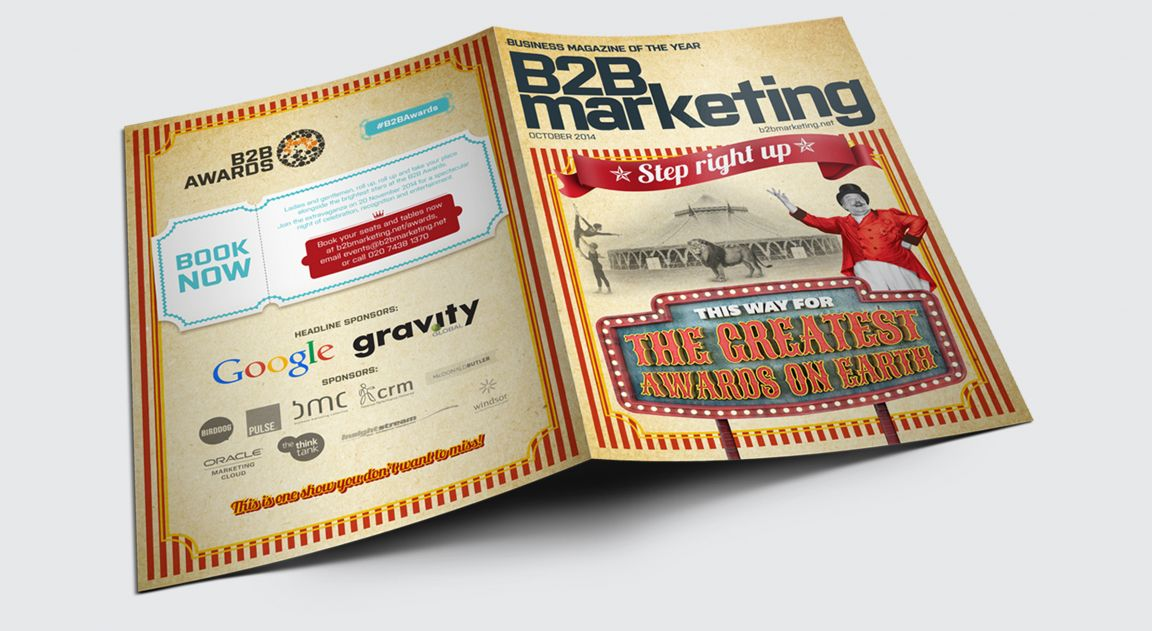 B2B Marketing Awards Magazine Design