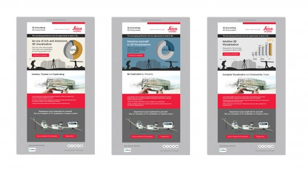 A lead generation campaign for Leica Geosystems