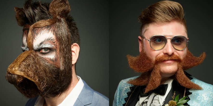 Beautiful beards, marvellous moustaches