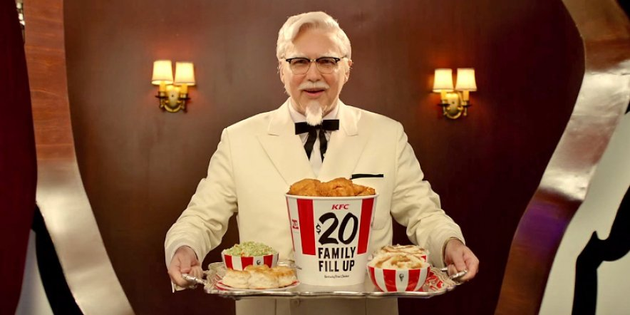 The Colonel's back on top