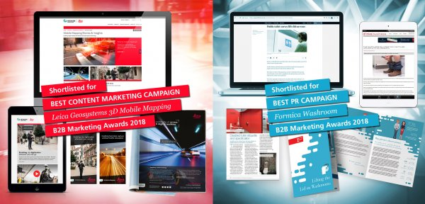 The Think Tank Nominated for B2B Marketing Awards