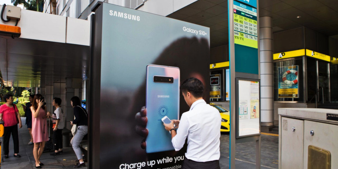 Samsung Takes Charge