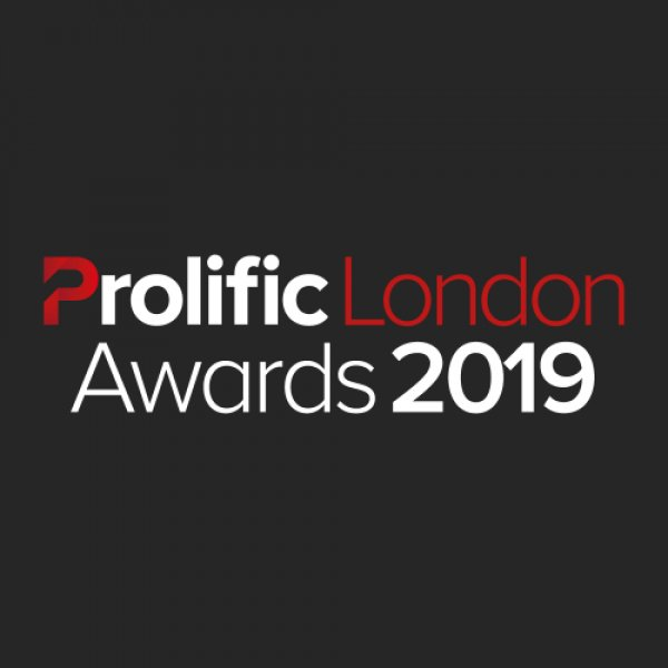Nominated in 3 Categories for The Prolific London Awards