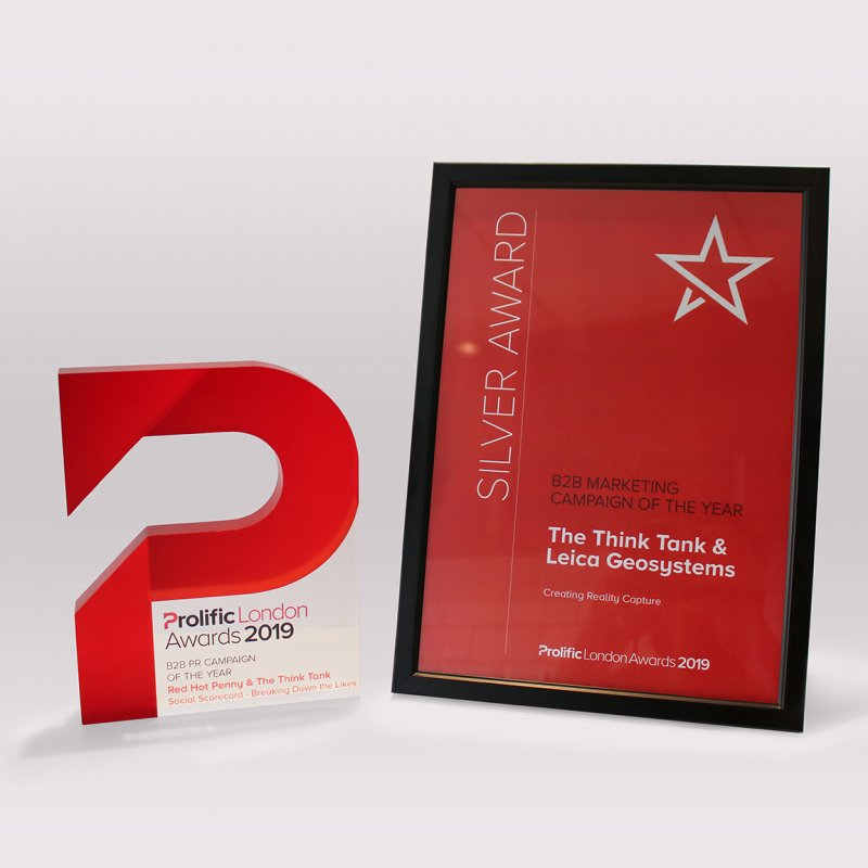 The Think Tank Wins 2 Prolific London Awards