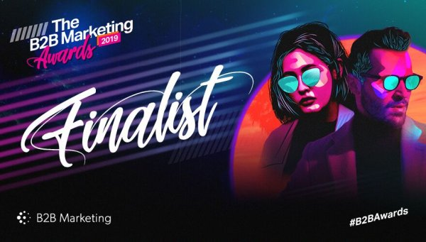 Nominated for B2B Marketing Award