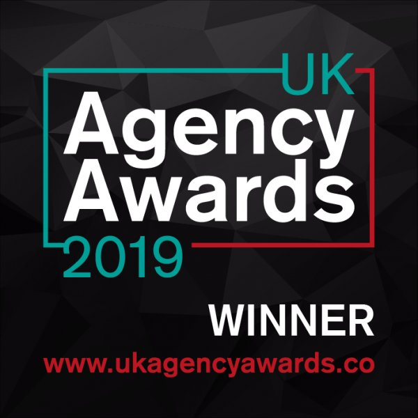 Winner at the UK Agency Awards 2019