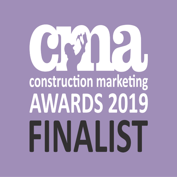 NOMINATED FOR 8 CONSTRUCTION MARKETING AWARDS