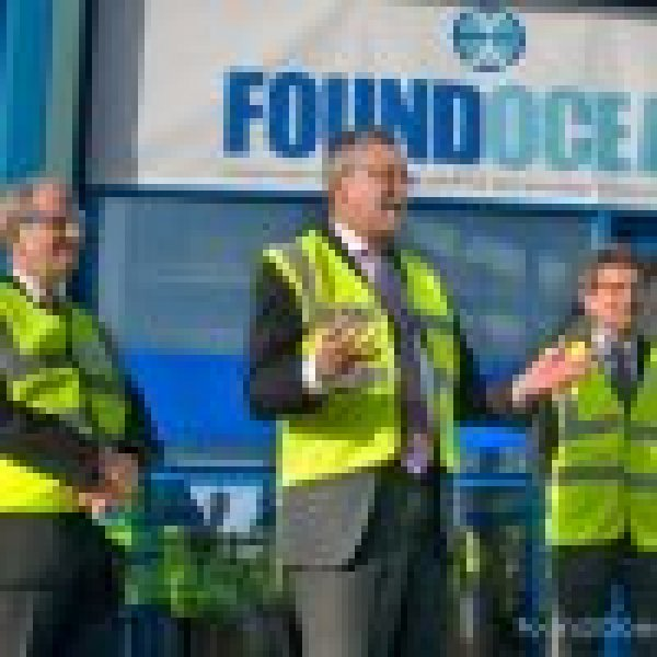 Scottish Minister opens FoundOcean's facility